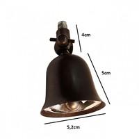 Plafond lamp spots landelijk 6 spots brons, nikkel, chroom