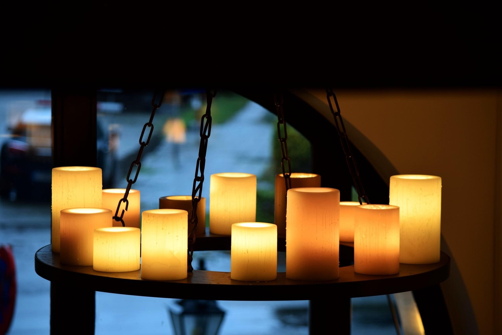 suspension avec bougies