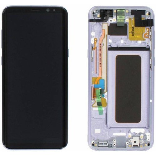 Foneplanet Samsung Galaxy S8 Plus Screen (G955F) Orchid Gray LCD Service Pack / GH97-20470C