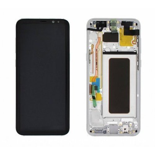 Foneplanet Samsung Galaxy S8 Plus (G955F) Arctic Silver LCD Service Pack / GH97-20470B