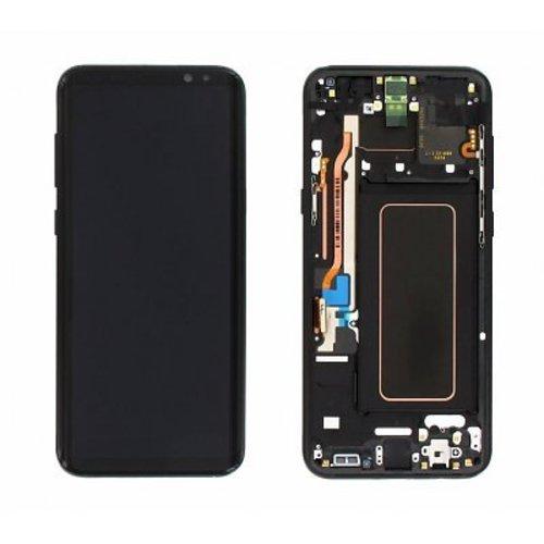 Foneplanet Samsung Galaxy S8 Plus Screen (G955F) Midnight Black LCD Service Pack / GH97-20470A