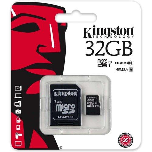 Foneplanet Kingston Micro SD 32GB + Adapter Class 10