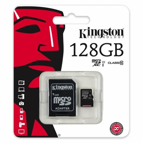 Foneplanet Kingston Micro SD 128GB + Adapter Class 10