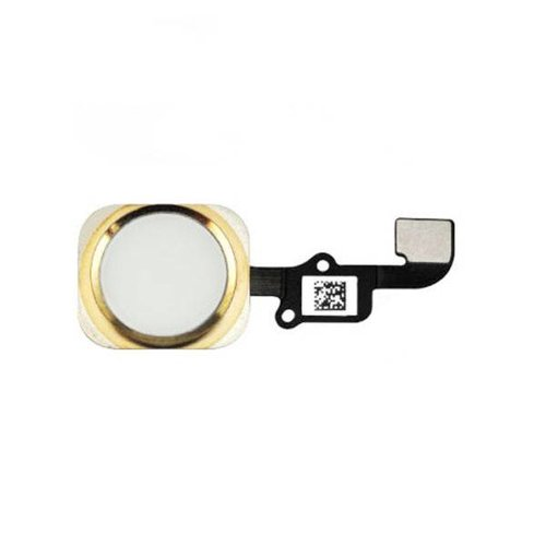 Foneplanet iPhone 6S & 6S Plus Home button with flex gold