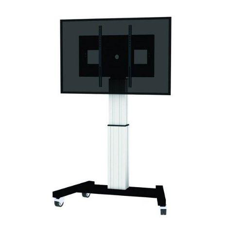 newstar m2500silver elektrischer tv st nder. Black Bedroom Furniture Sets. Home Design Ideas