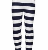 Bampidano Bampidano legging  stripe navy