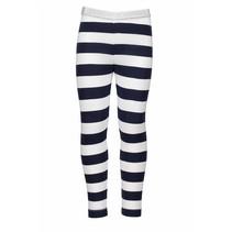 Legging  stripe navy