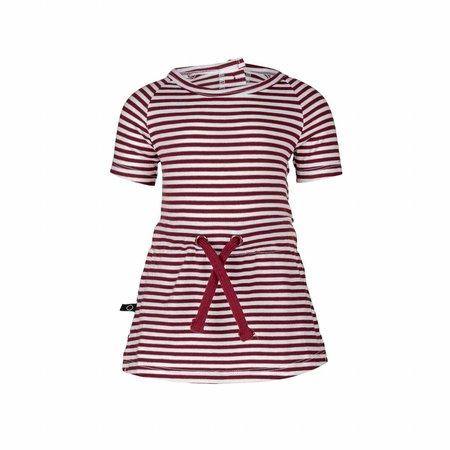 nOeser nOeser jurk Pien stripe red