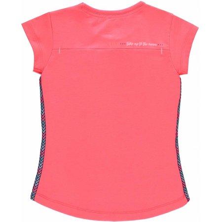 Quapi Quapi T-shirt Karola neon coral