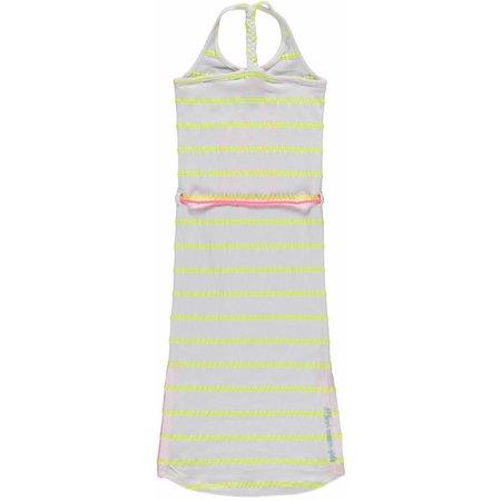 Quapi Quapi jurk karissa yellow stripe