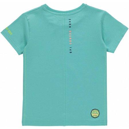 Quapi Quapi T-shirt Kevin ocean green
