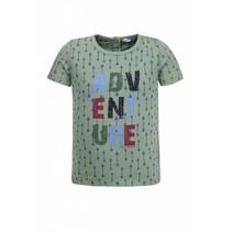 T-shirt Adventure green