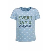 T-shirt adventure blue