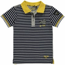 Polo Lance Navy Stripe