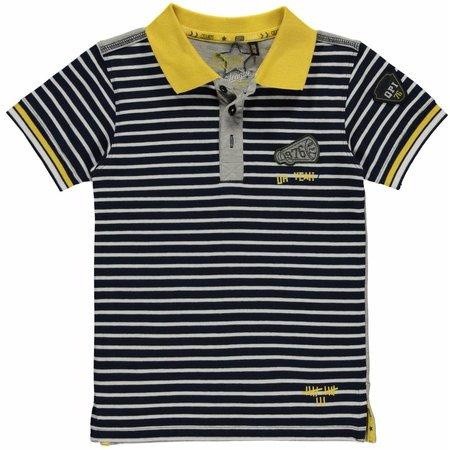 Quapi Quapi polo Lance Navy Stripe