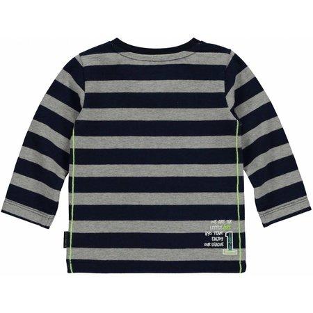 Quapi Quapi longsleeve Mads navy stripe