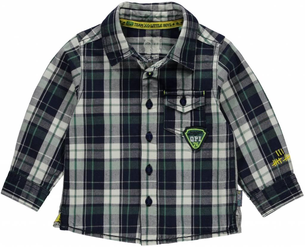 Quapi Quapi blouse Marc navy check