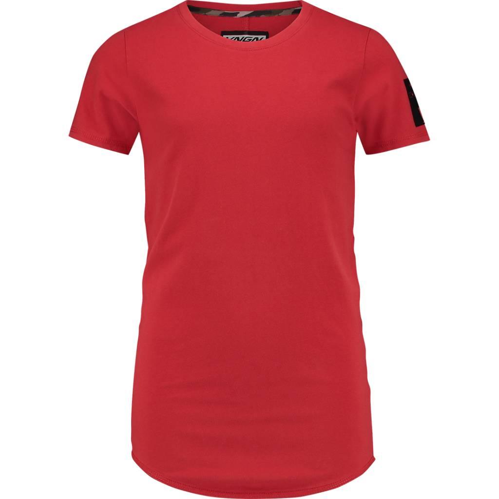 Vingino Vingino T-shirt Imar lava red