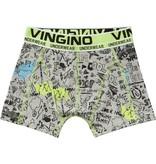 Vingino Vingino boxershort Skipa 2-pack  grey melee