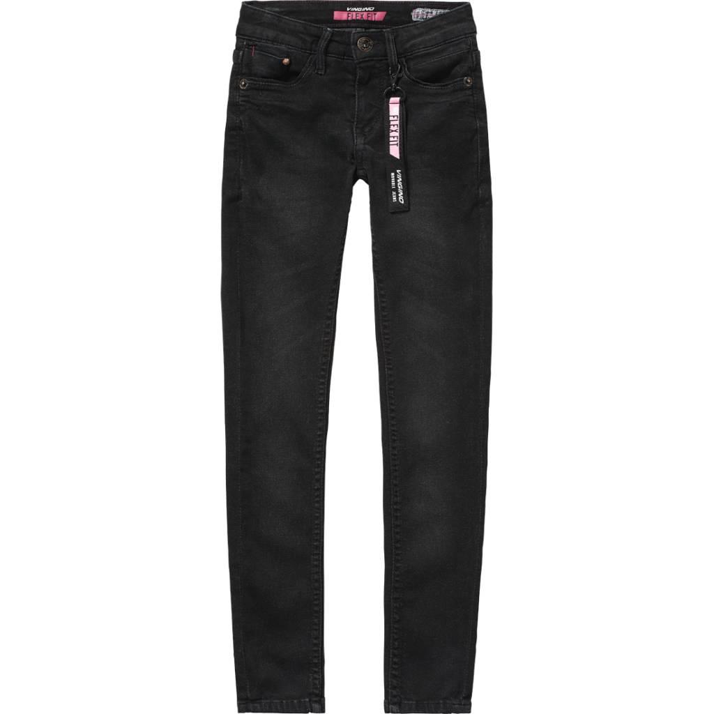 Vingino Vingino spijkerbroek Bernice black vintage