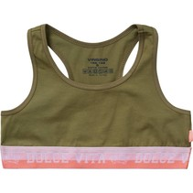 Top Kamie army green