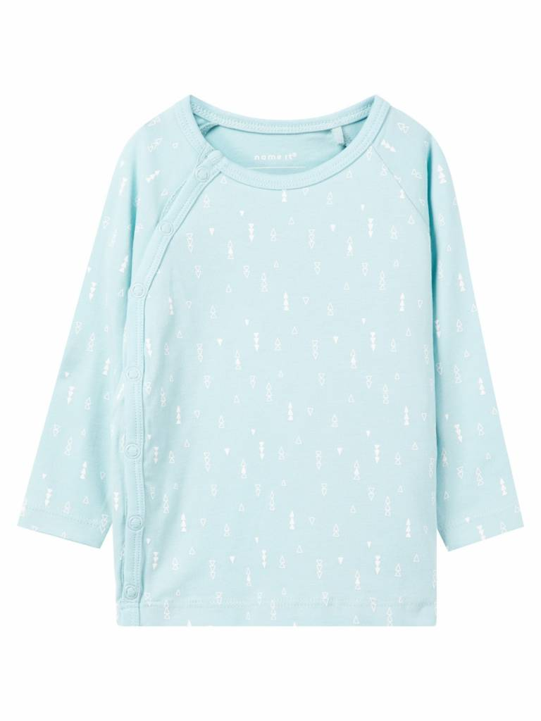 Name It Name It longsleeve delucious canal blue