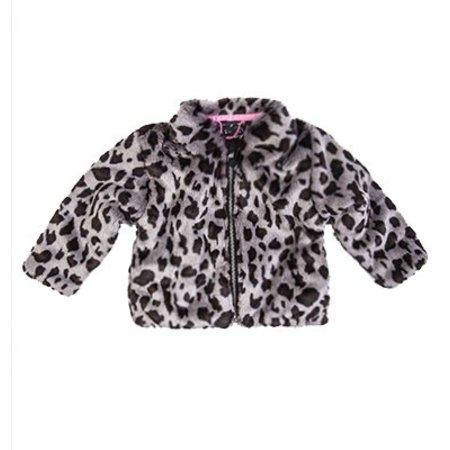 Beebielove Beebielove jas fake fur jacket gry