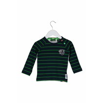 Longsleeve mini stripe ao peacock frog