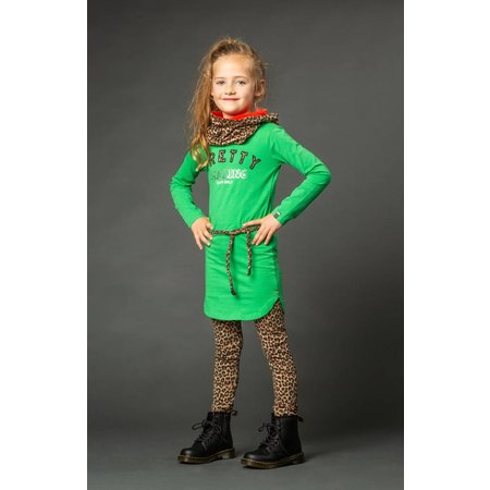 Quapi Quapi jurk Lamira 2 kelly green