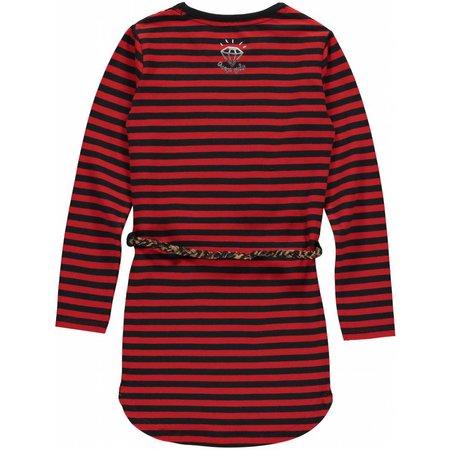 Quapi Quapi jurk Lamira 2 diva red stripe