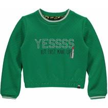 Trui Lien kelly green