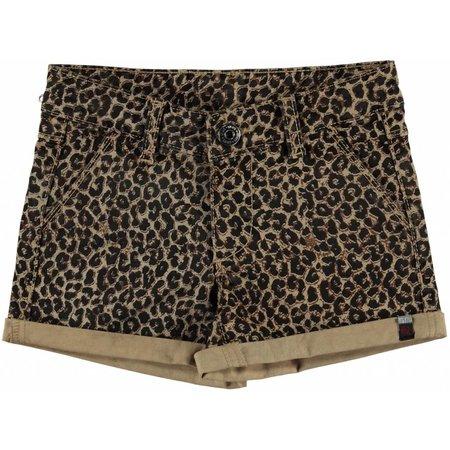 Quapi Quapi korte broek Liliana leopard