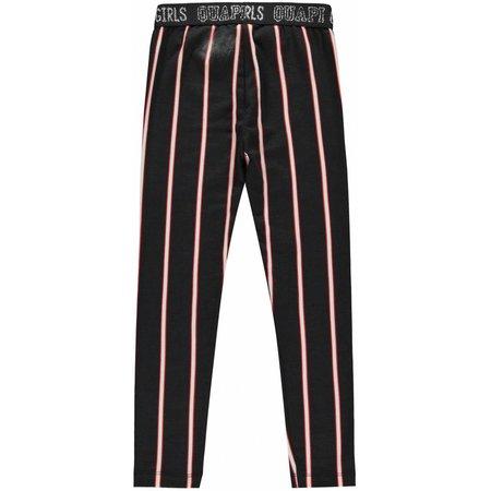 Quapi Quapi legging Lavinia 2 dark grey stripe