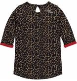 Quapi Quapi jurk Melanie leopard