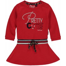 Jurk Melody diva red