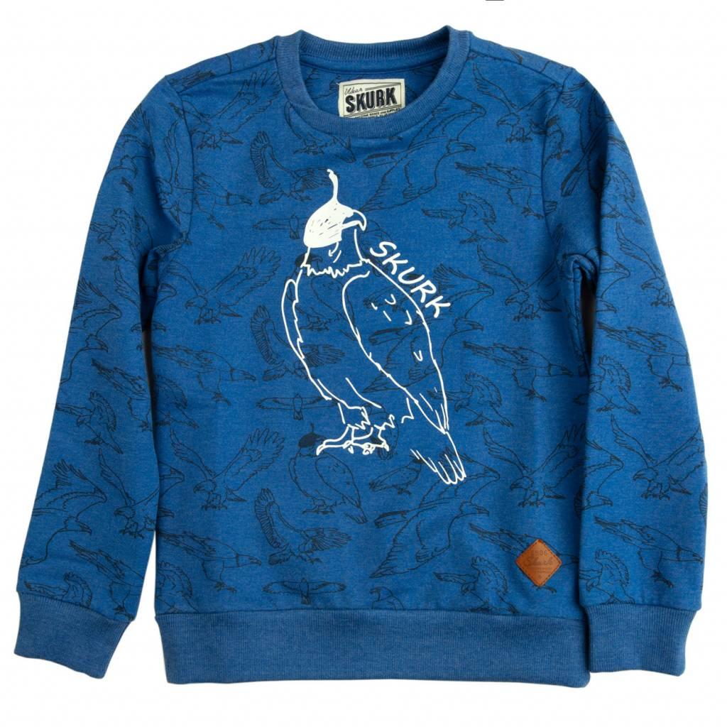 SKURK SKURK trui Seagle blue