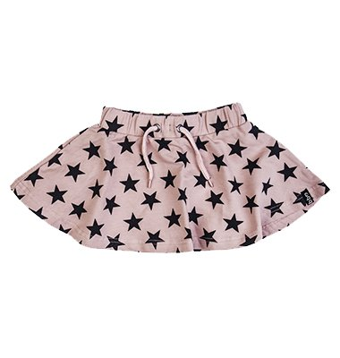 Beebielove Beebielove rokje triangles pnk