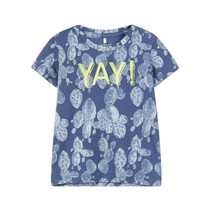 T-shirt  Denim vintage indigo