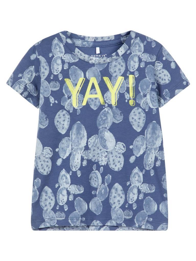 Name It Name It T-shirt  Denim vintage indigo