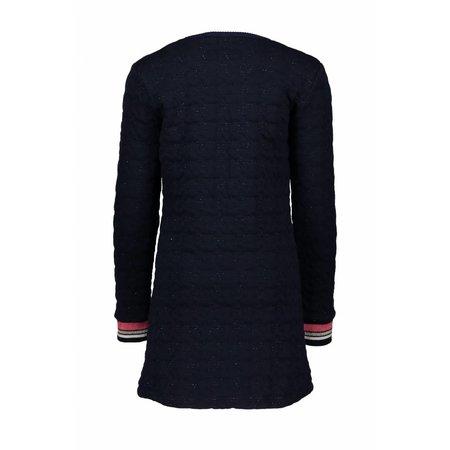 Bampidano Bampidano jurk tunic double fabric petite amie navy