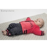 Bampidano Bampidano longsleeve fluo embroidery corel