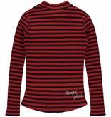 Quapi Quapi longsleeve Lieke diva red stripe