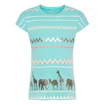 T-shirt Garjola pool blue