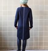 Levv Levv jurk Abba night blue panter