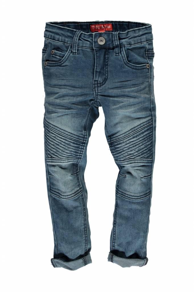 TYGO&vito TYGO&vito skinny spijkerbroek dbl kneepatches m. used