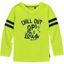Longsleeve Lennox neon yellow