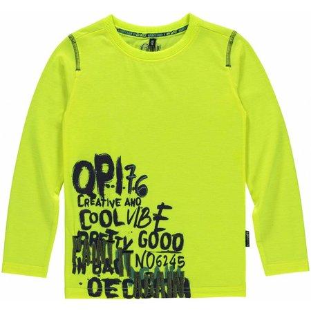 Quapi Quapi longsleeve Leroy neon yellow