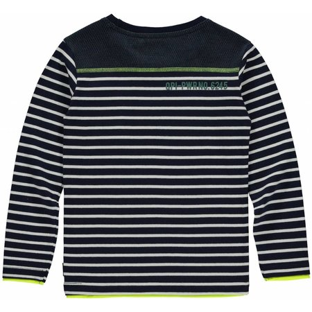 Quapi Quapi longsleeve Levi navy stripe