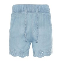 Korte broek Randi light blue denim