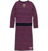 Quapi Quapi jurk Lizet dark blue stripe
